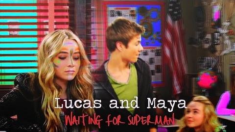 Lucas and Maya Waiting for Superman (AU)