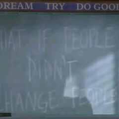 What If People Didn't Change People? (<a href=