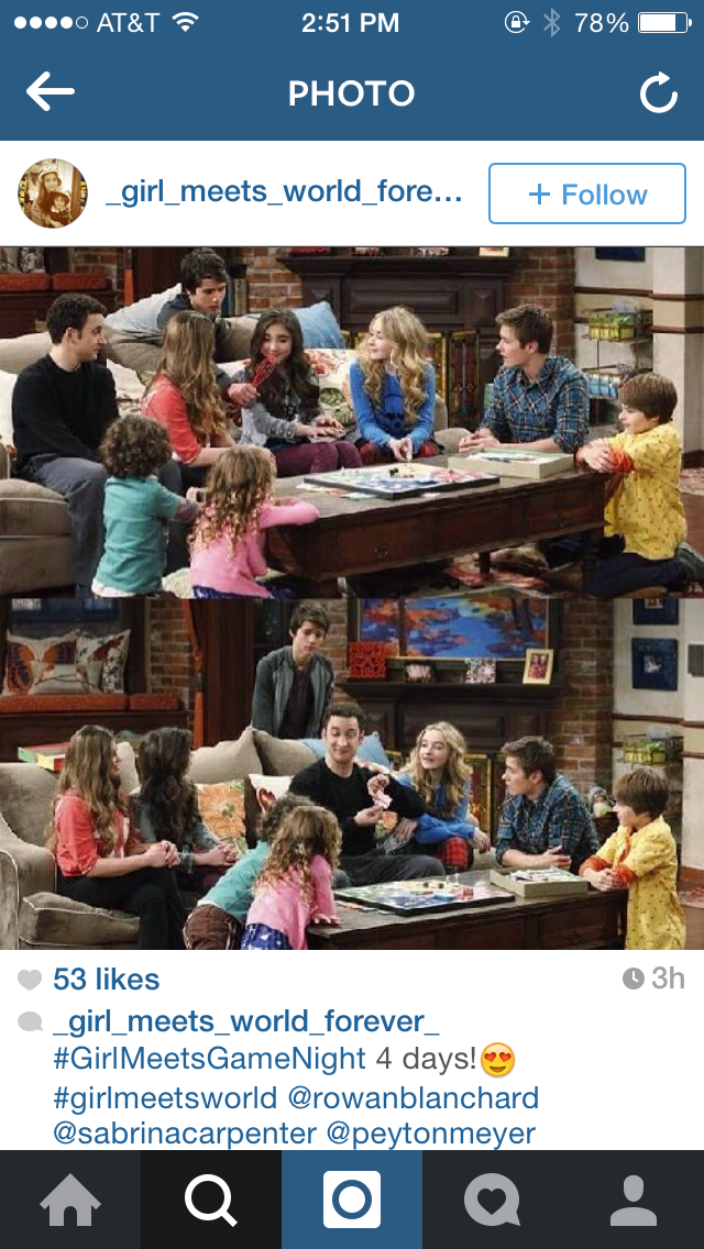 girl meets world games night Season 1 of girl meets world premiered on june 27, 2014 games movies tv wikis girl meets game night.