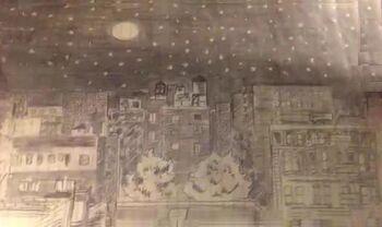 Maya's City at Night