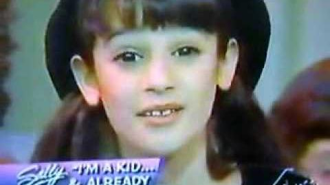 LIVE Lea Michele in 1996 - Castle on a Cloud (Les Miserables) pictures!