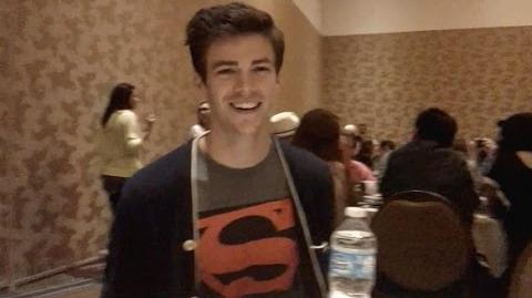 Grant Gustin Interview - The Flash
