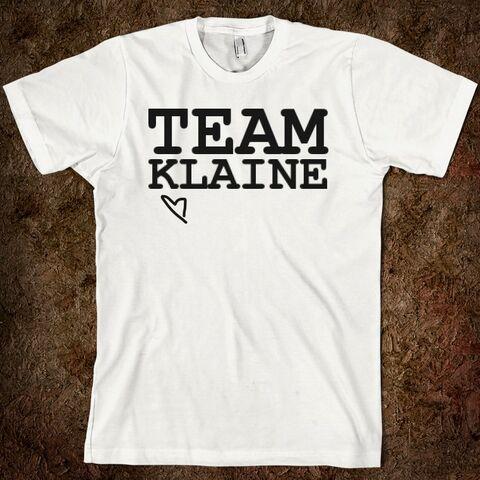 File:Team-klaine american-apparel-unisex-fitted-tee white w760h760.jpg