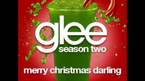Glee - Merry Christmas Darling