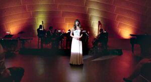 Rachel singing O Holy Night