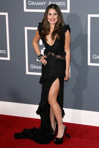File:Grammy arrivals lea michelle.jpg