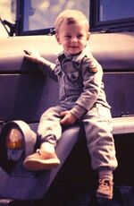 CoryM as a baby
