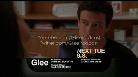 Laryngitis Promo Glee