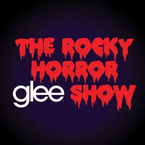 File:TheRockyHorrorGleeShow AlbumCover.jpg