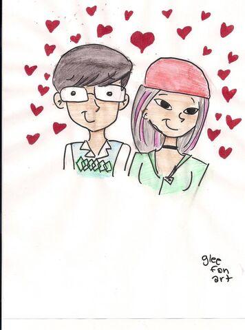 File:Tina and Artie by gleefanart.jpg