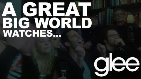 """A Great Big World Watches """"This Is the New Year"""" on Glee"""