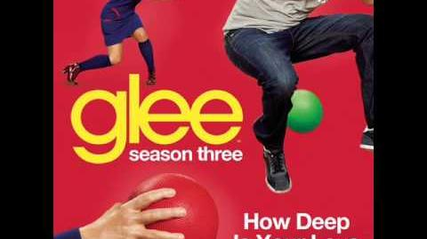 Glee - How Deep Is Your Love (Acapella)