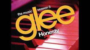 Glee - Honesty (HQ FULL STUDIO)