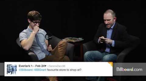 Glee's Grant Gustin Fan Q&A