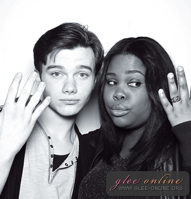 File:Chris Colfer and Amber Riley.jpg