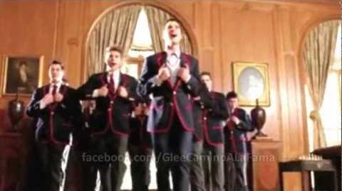 "Glee - Full Performance ""My Dark Side"""