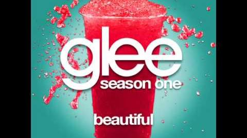 Glee - Beautiful LYRICS