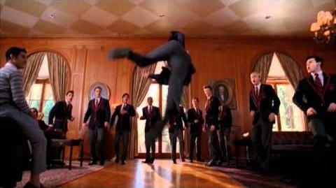 GLEE - Behind the Scenes with The Warblers