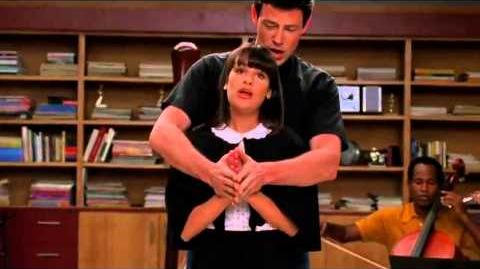 Glee With you I'm born again