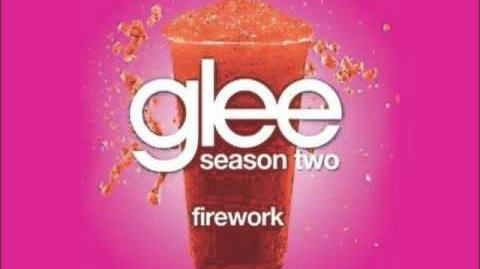Firework - Glee With Lyrics