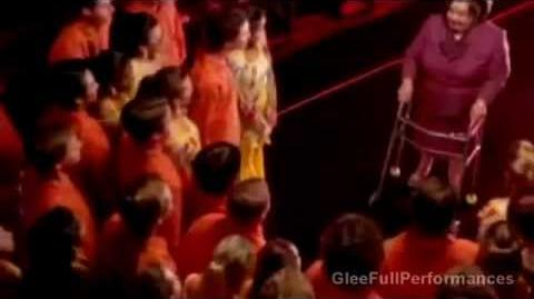 "GLEE - Full Performance of ""That's The Way (I Like It) Shake Your Booty"" - Deleted Scene-1"