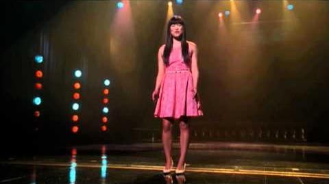 "GLEE - Full Performance of ""Because You Loved Me"""