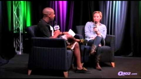 Demi Lovato Interview Q102