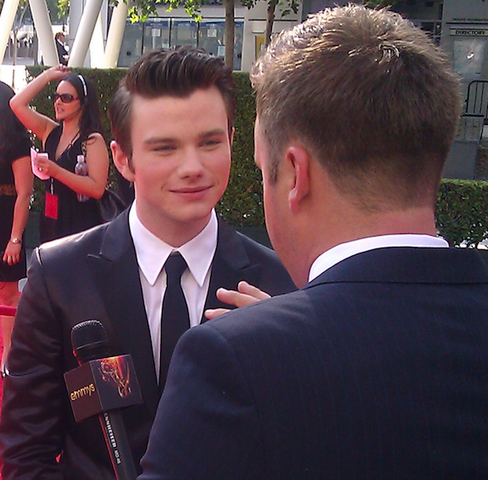 File:Chris Colfer on the 2011 Primetime Creative Arts Red Carpet.png
