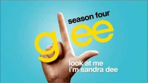 Look At Me I'm Sandra Dee - Glee HD Full Studio