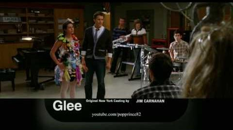 "Glee 1x20 ""Theatricality"" Promo !!"