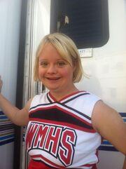 Lauren on Glee Set 3-2013