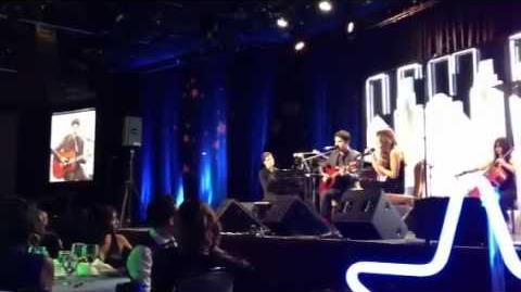 Darren Criss & Lea Michele - Falling Slowly (HD)