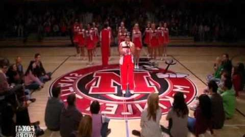 Glee - Beautiful Official Music Video .