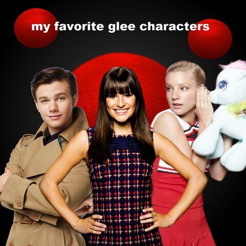 File:My Favorite Glee Characters.jpg