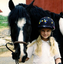 Taylor riding