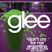 Glee - dont cry rachel