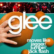 Glee - moves like jagger
