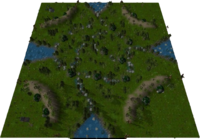 China Grove Map