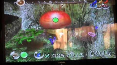 Pikmin 1 Controllable Toadmin Glitch