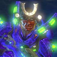 Samurai helmet for recon
