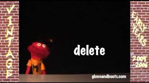 Mario's Word of the Week - Delete