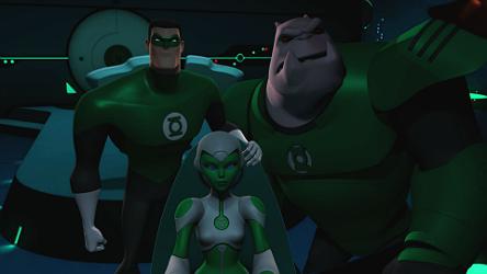 File:Hal, Kilowog and Aya watch Shard.png