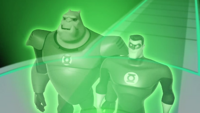 Hal and Kilowog transmission