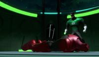 Hal defeats Atrocitus
