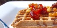 Berry Buckwheat Waffles