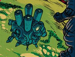 Bio-paralyzer weapon