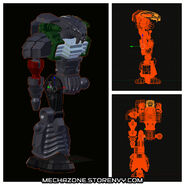 Fangar 3D model