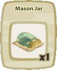 Inv Mason Jar
