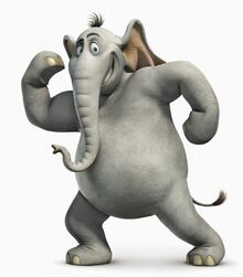 431158 xorton slon seryj belyj-fon 1680x1050 (www.GdeFon.ru)