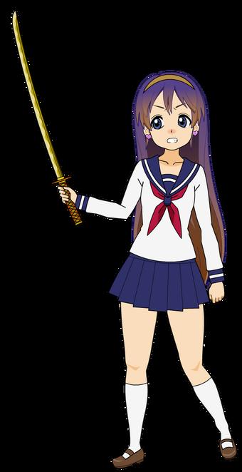 Tomako's Katana